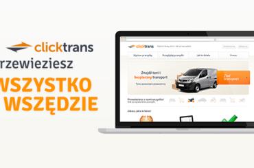 Clicktrans – tu zlecisz transport przesyłki