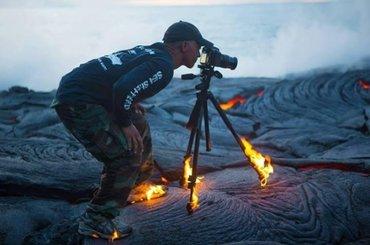Fotografowie, którzy byli w stanie zrobić wszystko dla idealnego kadru