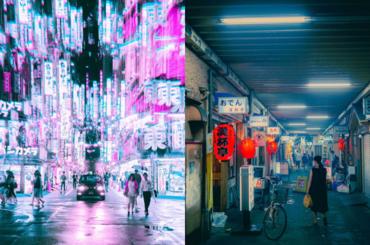 Tokio nocą - mnóstwo inspiracji dla fotografów