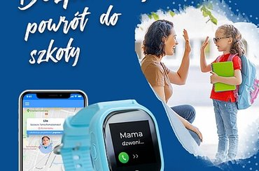 Zegarek z GPS dla dziecka