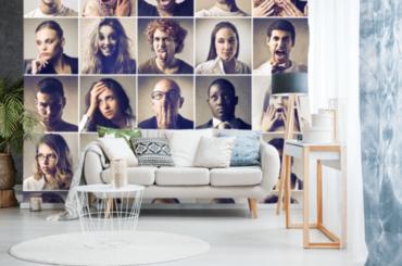 Niebanalne pomysły na dekorację za pomocą zdjęć