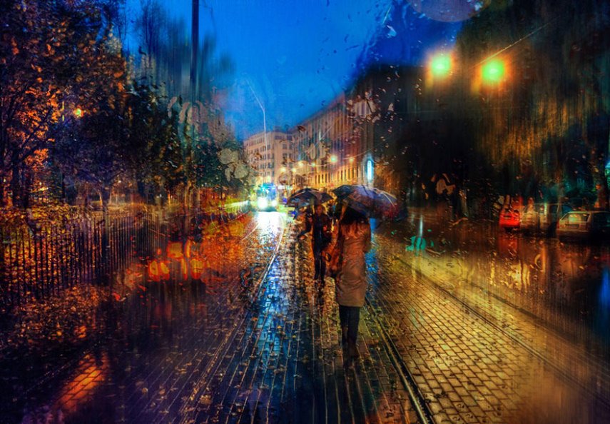 rain-street-photography-glass-raindrops-oil-paintings-eduard-gordeev-14