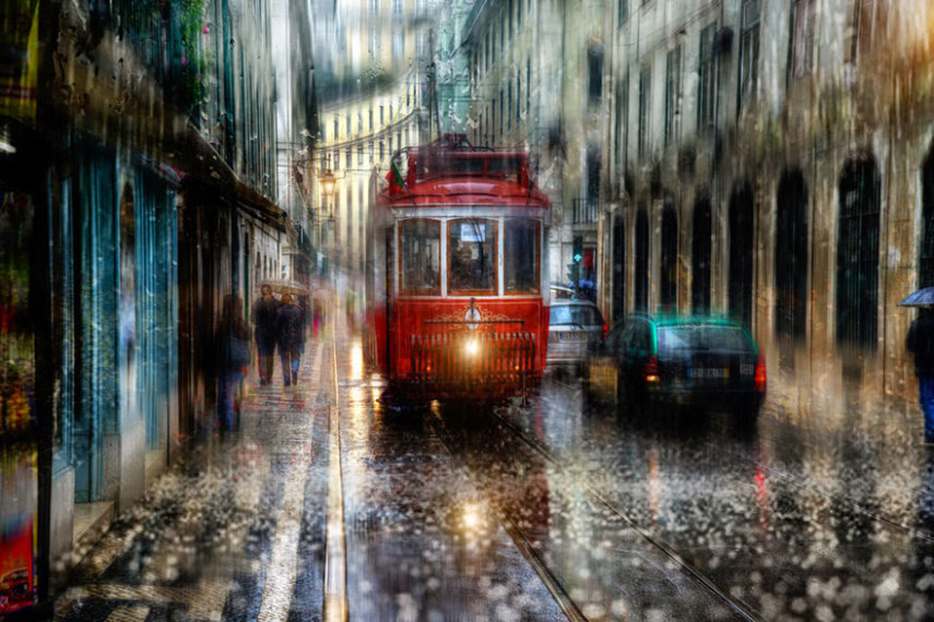 rain-street-photography-glass-raindrops-oil-paintings-eduard-gordeev-17