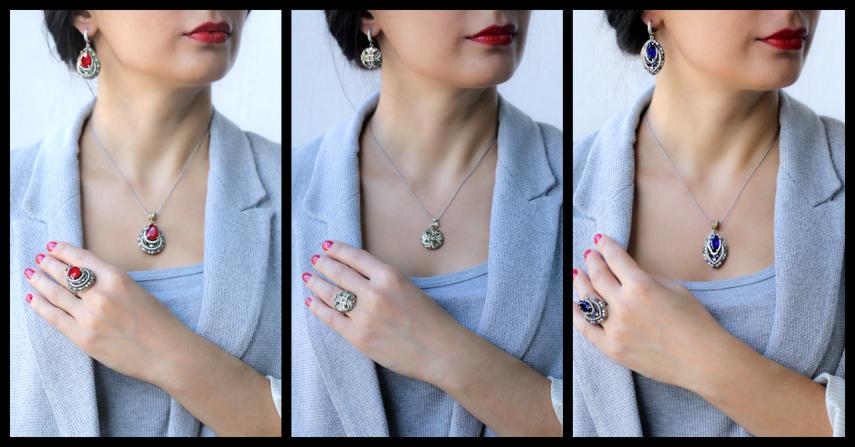 Biżuteria srebrna w sklepie Ottomania