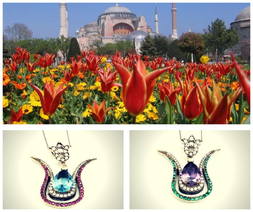 Srebrna biżuteria od Ottomania